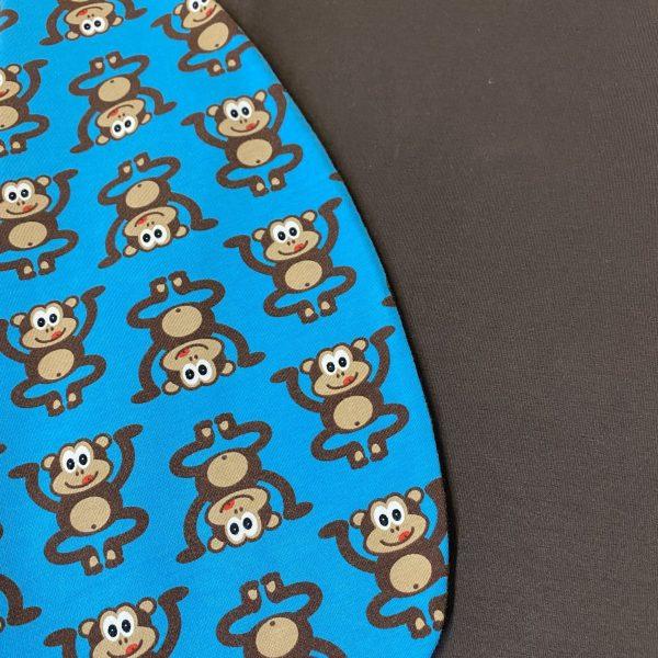 Spací vak opica detail