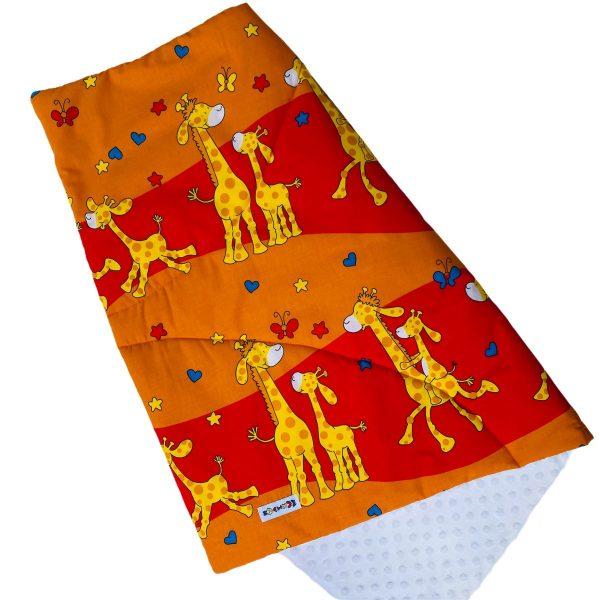 prikrývka žirafa