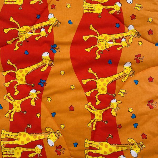 Detská prikrývka žirafa detail