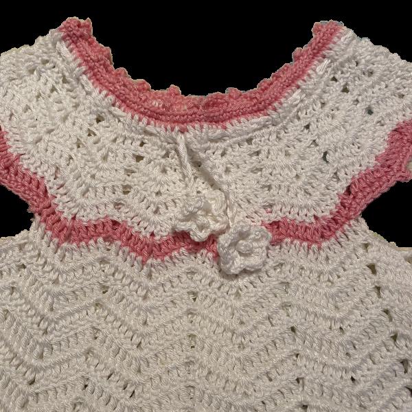 šaty bielo ružove