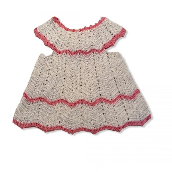 šaty bielo ruzove