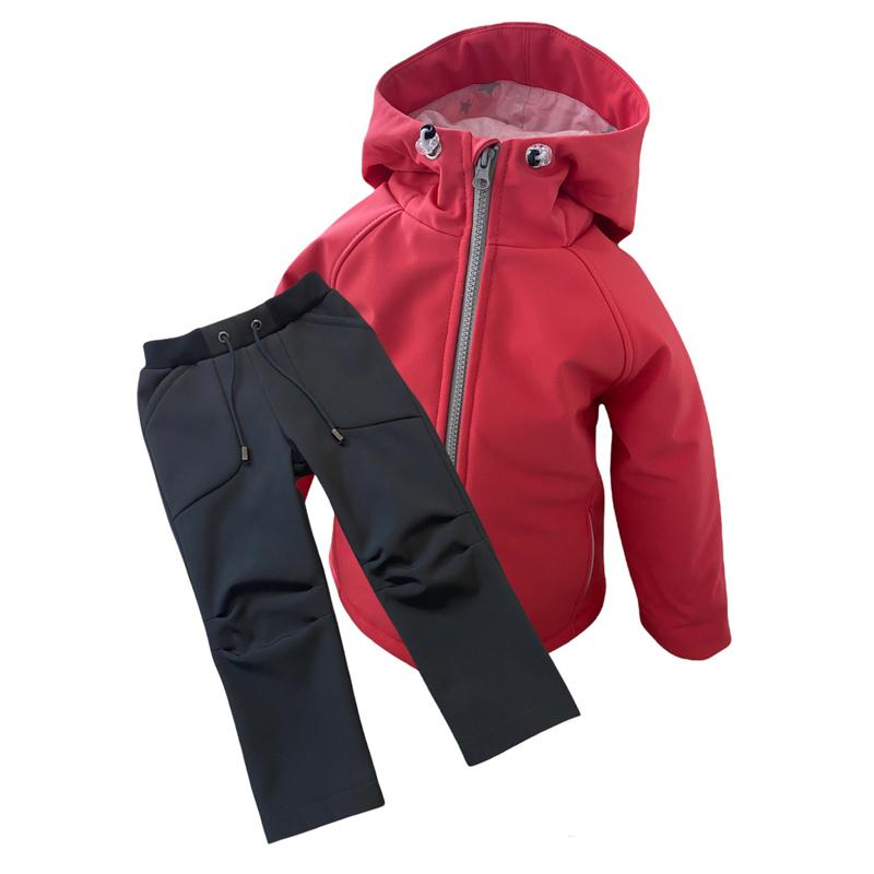 Detské softshellové oblečenie